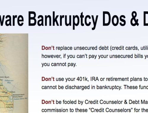 Delaware Bankruptcy Dos and Don'ts